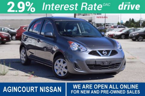 Pre-Owned 2017 Nissan Micra