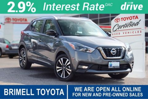 Pre-Owned 2019 Nissan Kicks SR / HEATED SEATS / BACK UP CAM / ALLOY WHEELS / LIFETIME ENGINE WARRANTY