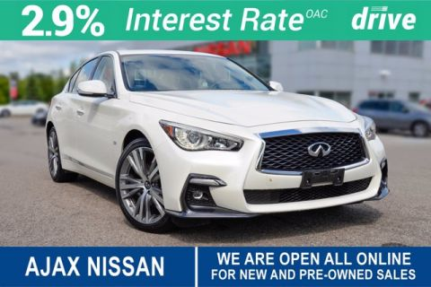 Pre-Owned 2019 INFINITI Q50 3.0t Signature Edition